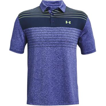 Under Armour Gents Playoff 2.0 Polo Shirt Navy - White 436