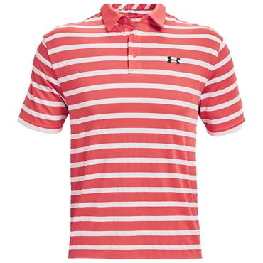 Under Armour Gents Playoff 2.0 Polo Shirt Red 690