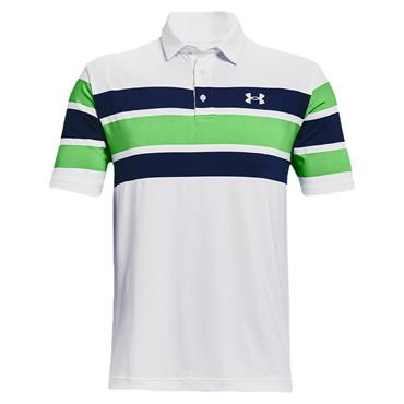 Under Armour Gents Playoff 2.0 Polo Shirt White - Academy 138