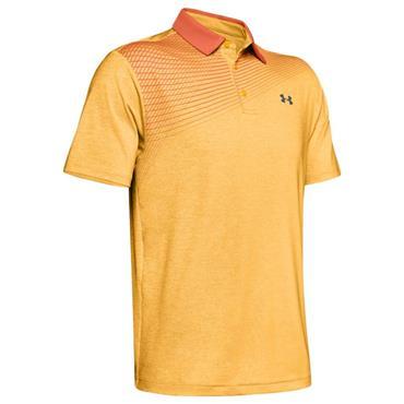 Under Armour Gents Playoff 2.0 Polo Shirt Orange