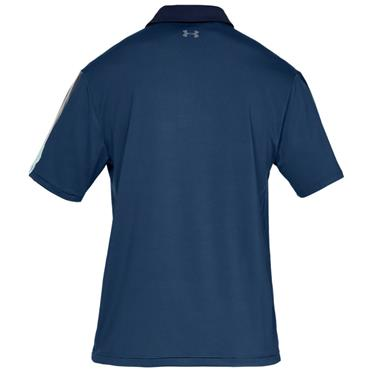 Under Armour Gents Playoff 2.0 Polo Shirt Blue