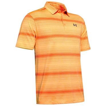 Under Armour Gents Playoff 2.0 Polo Shirt Orange - Yellow