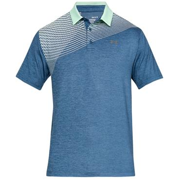 Under Armour Gents Playoff 2.0 Polo Shirt Petrol