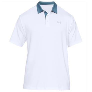 Under Armour Gents Playoff 2.0 Polo Shirt White