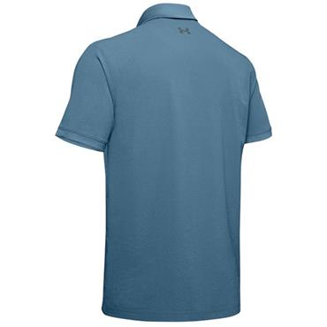 Under Armour Gents Playoff Vented Polo Shirt Blue