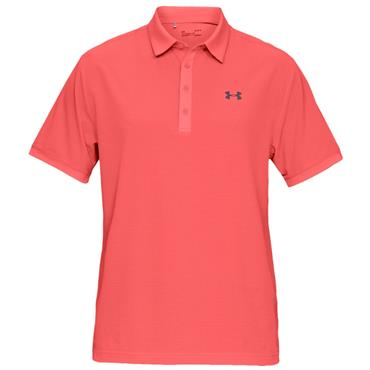 Under Armour Gents Playoff Vented Polo Shirt Red