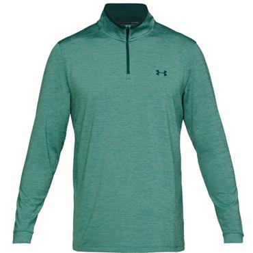 Under Armour Gents Playoff 2.0 1/4 Zip Top Blue