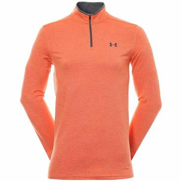 Under Armour Gents Playoff 2.0 1/4 Zip Top Orange