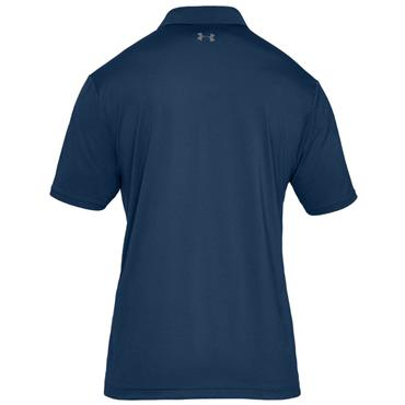 Under Armour Gents Performance 2.0 Polo Shirt Blue