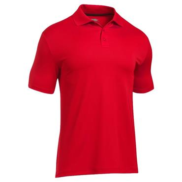 Under Armour Gents Performance 2.0 Polo Shirt Red