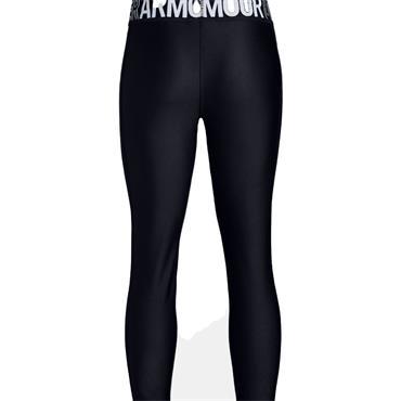 Under Armour Junior - Girls Armour HeatGear® Ankle Crops Black