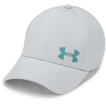 Under Armour Gents Golf Headline 3.0 Cap Light Grey
