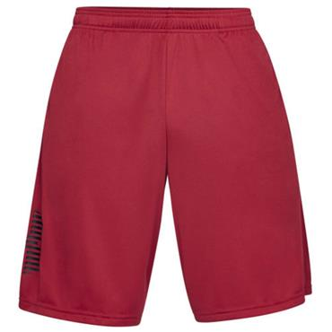 Under Armour Gents Tech Graphic Shorts Red