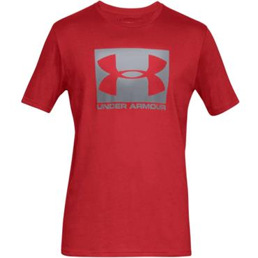 Under Armour Boxed Sportstyle top Red