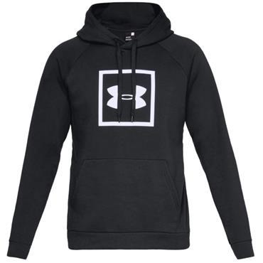 Under Armour Gents Rival Fleece Logo Hoodie Black