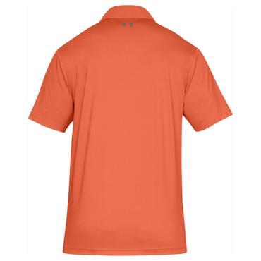 Under Armour Gents Performance 2.0 Polo Shirt Orange