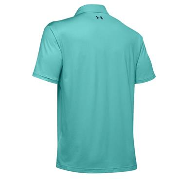 Under Armour Gents Performance 2.0 Polo Shirt Turquoise