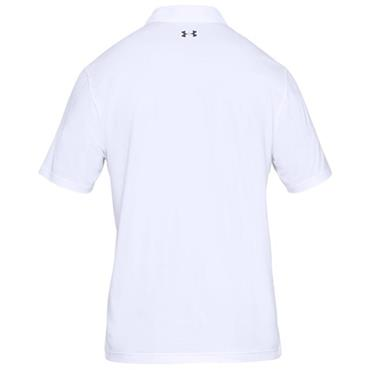 Under Armour Gents Performance 2.0 Polo Shirt White
