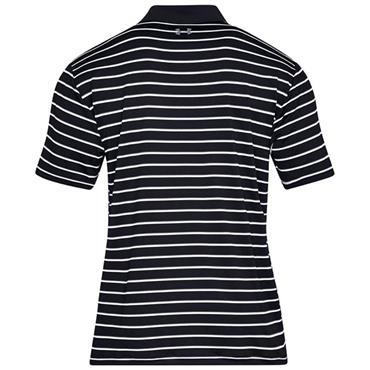 Under Armour Gents Performance Divot Stripe 2.0 Polo Shirt Black