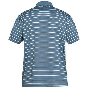 Under Armour Gents Performance Divot Stripe 2.0 Polo Shirt Blue