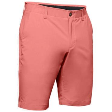 Under Armour Gents Performance Taper Shorts Orange