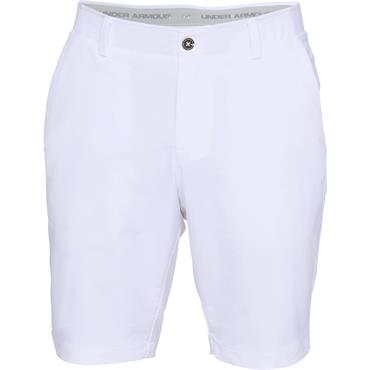 Under Armour Gents Performance Taper Shorts White