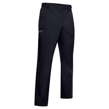 Under Armour Gents Golf Rain Trousers Black