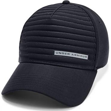 Under Armour Gents Embossed Golf Cap Black