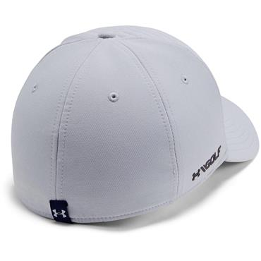 Under Armour Gents Embossed Golf Cap Light Grey