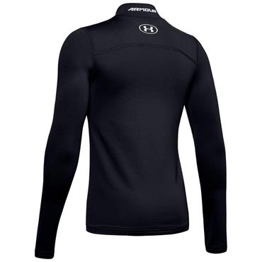 Under Armour Junior - Boys ColdGear® Mock Neck Black
