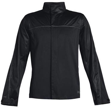 Under Armour Gents Waterproof Storm Rain Jacket Black