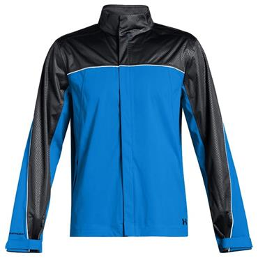 Under Armour Gents Waterproof Storm Rain Jacket Blue