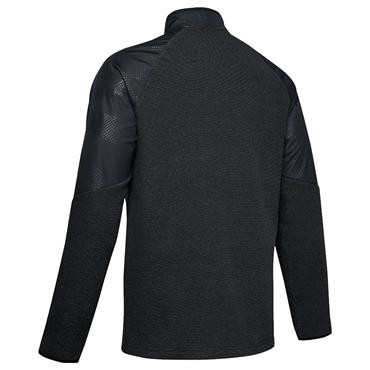 Under Armour Gents ColdGear® 1/2 Zip Fleece Top Black