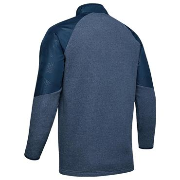 Under Armour Gents ColdGear® 1/2 Zip Fleece Top Navy