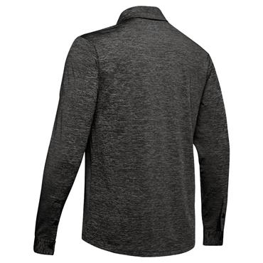 Under Armour Gents Playoff 2.0 Long Sleeve Polo Shirt Black