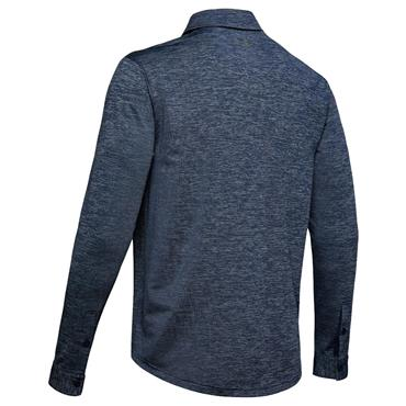 Under Armour Gents Playoff 2.0 Long Sleeve Polo Shirt Navy