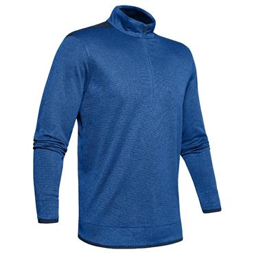 Under Armour Gents SweaterFleece 1/2 Zip Blue