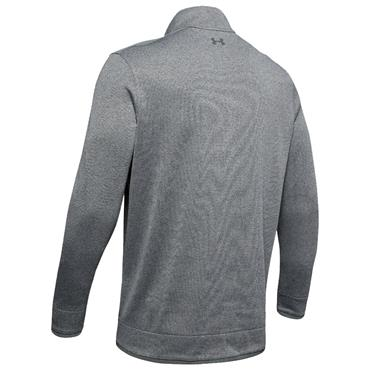 Under Armour Gents SweaterFleece 1/2 Zip Grey