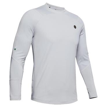 Under Armour Gents ColdGear®  Rush Mock Neck Grey
