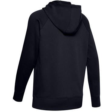 Under Armour Ladies Rival Full Zip Fleece Black 001