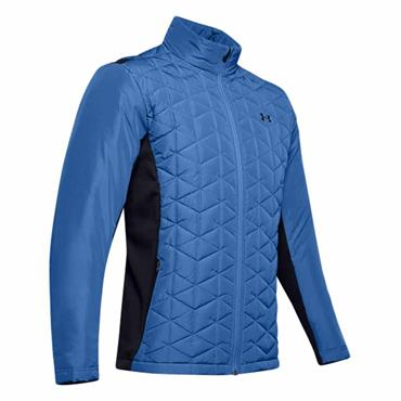 Under Armour Gents ColdGear® Reactor Golf Hybrid Jacket Blue