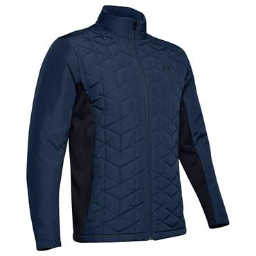Under Armour Gents ColdGear® Reactor Golf Hybrid Jacket Navy