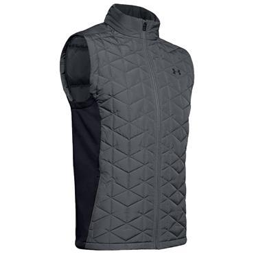 Under Armour Gents ColdGear® Reactor Golf Hybrid Vest Grey