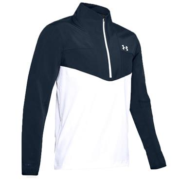 Under Armour Gents Windstrike ½ Zip Top Academy - White 408