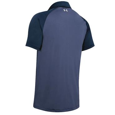 Under Armour Gents Chest Stripe Polo Shirt Academy