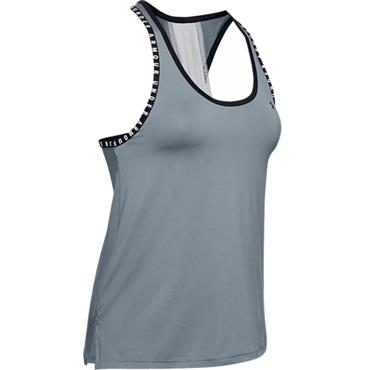 Under Armour Ladies Knockout Tank Top Turquoise 396
