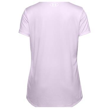 Under Armour Junior - Girls Tech™ Big Logo Short Sleeve Top Lilac 570