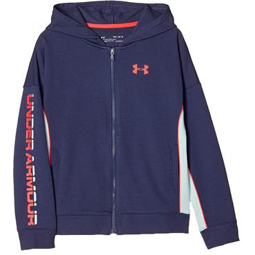 Under Armour Junior - Boys Rival Terry Full Zip Top Blue 497