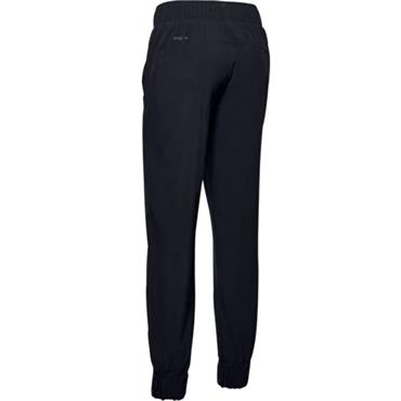 Under Armour Ladies Woven Graphic Pants Black 001