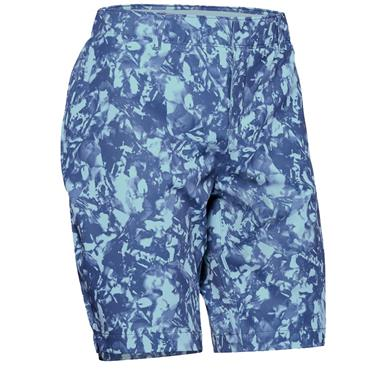 Under Armour Ladies Links Printed Shorts Blue